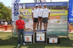 Kocaeli'de Yüzme Yarışları Sona Erdi