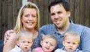 İngiltere'de Bir Kadın Hamburger Diyetiyle Üçüz Doğurdu