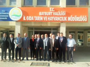 Milletvekili Özbek'ten Kurum Ziyaretleri