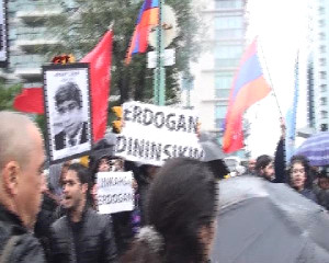 Ermenilerden Başbakan Erdoğan Karşıtı Eylem
