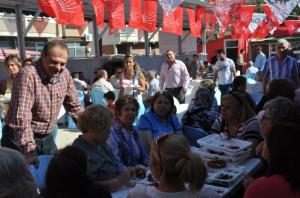 Başkan Dalgıç CHP İlçe Örgütünün Geleneksel Kahvaltı Etkinliğine Katıldı
