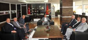 Başkan Topçuoğlu, Görevine Başladı