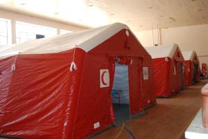 Yayladağı'na Kurulan Sahra Hastanesi Hizmete Hazır