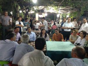 AK Parti'li Beyaz'dan Hani ve Kocaköy İlçelerine Ziyaret