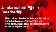 Kahramanmaraş Pazarcık'da Jandarmadan Eğitim Seferberliği