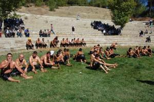 Pehlivanlar Harmancık'ta Kapıştı