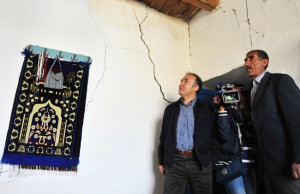 Vali Ahmet Altıparmak, Deprem Bölgesinde İncelemelerde Bulundu