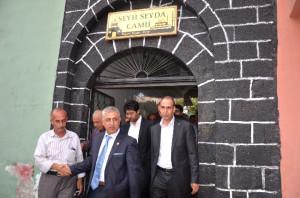 AK Parti'li Dindar'dan Seyda Ailesine Taziye Ziyareti