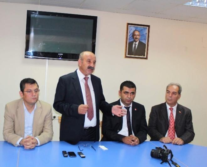 CHP Manisa İl Başkanlığı İlçe Başkanlarını Tanıttı