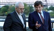 Davutoğlu, İran Dışişleri Bakanı Zarif ile Görüştü