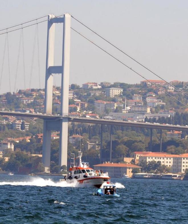 Başbakan Erdoğan Avrupa Yakası'na Deniz Yoluyla Geçti