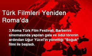 Türk Filmleri Yeniden Roma'da