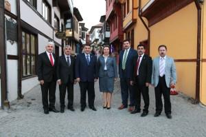 AK Parti Heyetinden Odunpazarı Ziyareti