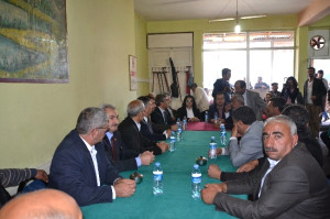 CHP Genel Başkan Yardımcısı Adnan Keskin, Şenkaya'da