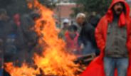 Hasan Ferit Gedik'in Cenazesinde Gerginlik