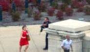 ABD Kongre Binası Önünde Çatışma Çıktı