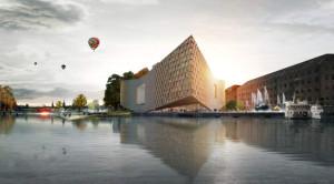 Stockholm'e Dev Nobel Merkezi