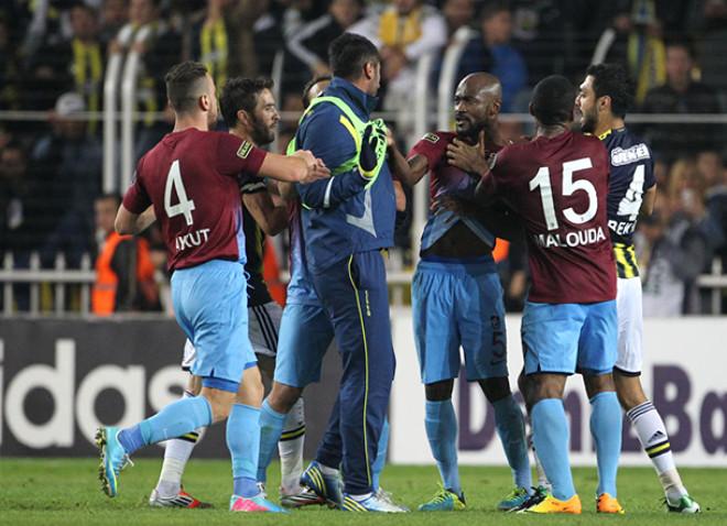 Fenerbahçe Trabzonspor Maçında Olay Çıktı