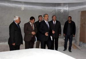 Ürgüp, Fidan Yazıcıoğlu Kültür Merkezi'nde İncelemelerde Bulundu