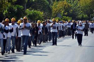 Ankara'ya Yürüyen İşçilere Aydın'da Polis Müdahalesi (2)