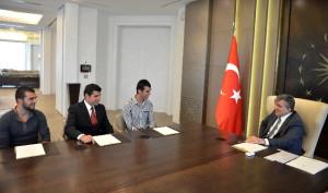 Cumhurbaşkanı Gül'ün Motosiklet Merakı Sofuoğlu'nu Şaşırttı