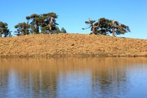 Denizli Valisi Demir Kartal Gölü'nde İncelemelerde Bulundu