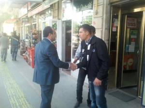 Milletvekili Özbek Bayramda Esnafı Unutmadı