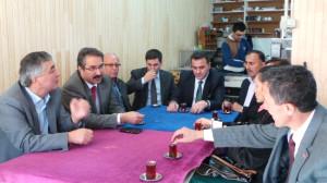 Milletvekili Ünal, İlçelerde Vatandaşlarla Bayramlaştı