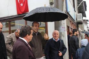 Bakan Eker, Cuma Namazını Mudurnu'da Kıldı