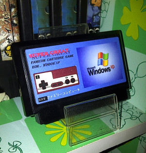 Windows Xp, Nintendo Famicom Kaseti Oldu
