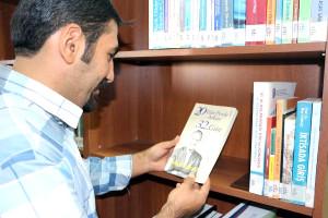 Birand'ın Kitapları Şırnak Üniversitesi Kütüphanesi'nde
