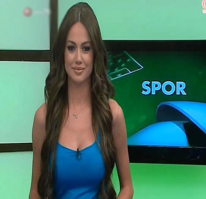 Dünyanın Tescilli Güzeli Spor Spikeri: Kübra Hera Arslan