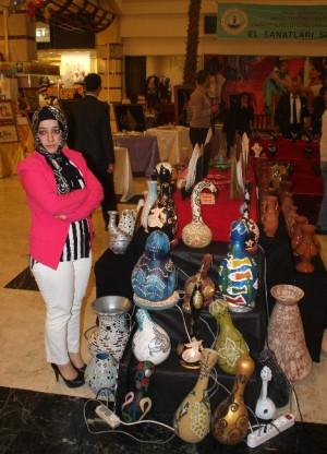Halfetililer 'El Sanatları' Sergisi Açıldı