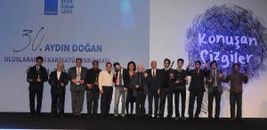 30. Aydın Doğan Uluslararası Karikatür Yarışması Ödülleri Sahiplerini Buldu