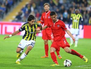 Fenerbahçe - Gaziantepspor Maçından Kareler