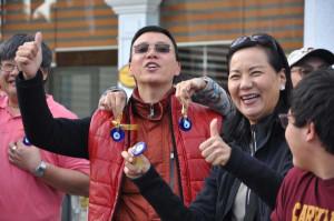İpek Yolunu Ciple Takip Eden Hong Honglu Ekip Samsun'a Geldi