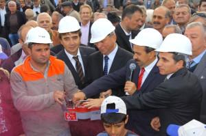 Tekkeköy Belediyesi Yeni Hizmet Binasının Temeli Atıldı