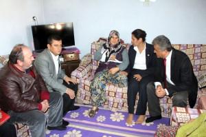 CHP'lilerin Taziye ve Geçmiş Olsun Ziyareti
