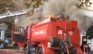 Emirgan Sütiş'te Yangın Çıktı
