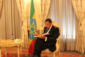 Etiyopya Cumhurbaşkanı, Türk Okulları Heyetini Kabul Etti