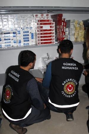 Samsun Polisi Ünye'de Kaçakçılık Operasyonu Düzenledi