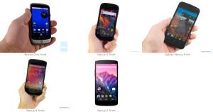 Nexus Telefonların 5 Yıldaki Evrimi