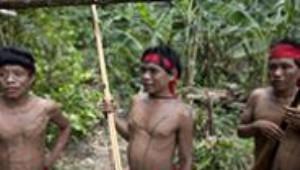 Amazon Ormanlarındaki Kabileler İlk Kez Görüntülendi