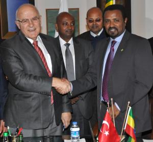 Etiyopya ve Türk İşadamları İş Zirvesinde Bir Araya Geldi