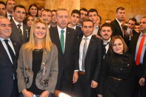 Kırkağaçlı Ak Gençler Başbakan Erdoğan'la Buluştu