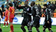 Beşiktaş, Kayserispor'u 3-0 Yendi