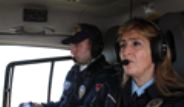 Trafik Şube Ekipleri, Havadan Denetimlere Başladı