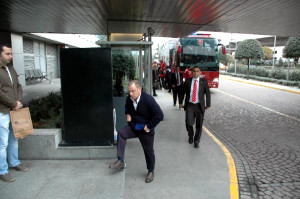 Milli Takım Özel Maç İçin Adana'ya Gitti