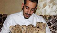 Zengin Arapların Yeni Eğlence Kaynağı Vahşi Hayvanlar