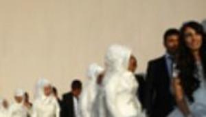 Erdoğan, Diyarbakır'da Toplu Nikah Töreninde
